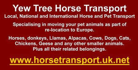Yew Tree Horse Transport,UK to France,pet transport,animal transport,local,national and international horse and pet transport,relocation to Europe,horses,donkey,llamas,alpacas,cows,goats,sheep,dogs,cats,chickens,geese,DEFRA appproved